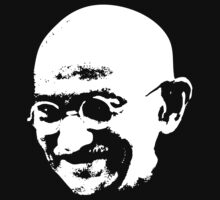 Mahatma Gandhi by Karl Whitney