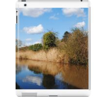 Worcester to Birmingham Canal iPad Case/Skin