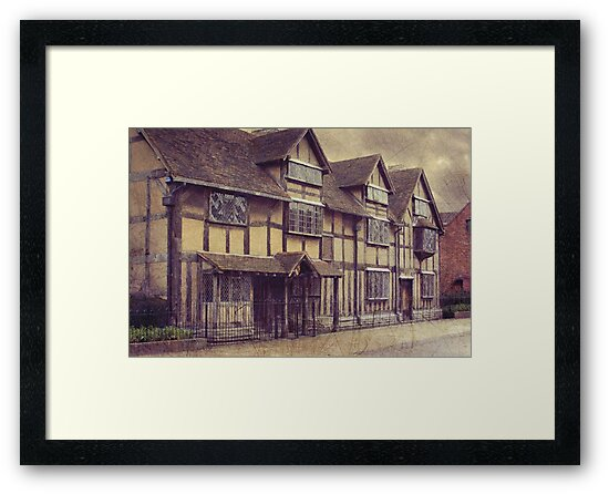 Ye olde Bard's birthplace by Lissywitch