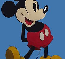 Mickey Mouse by Dannersart