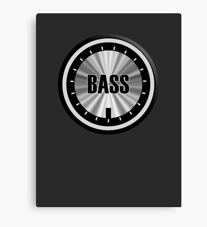 Bass Knob Canvas Print