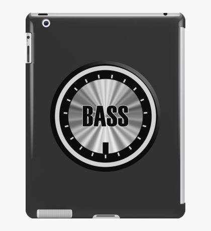 Bass Knob iPad Case/Skin