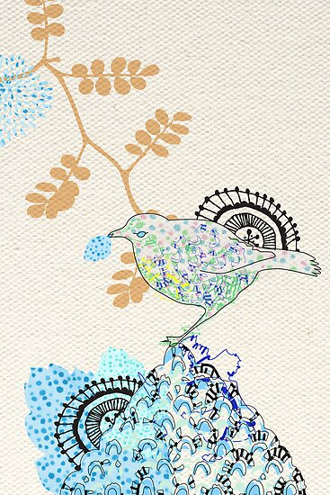 Bower Bird by Tiffany Atkin
