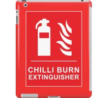 Funny Chilli Burn Fire Extinguisher Spicy Chilli Curry iPad Case/Skin