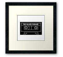 The Black Parade cassette tape Framed Print