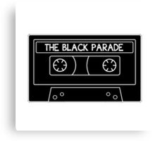 The Black Parade cassette tape Canvas Print