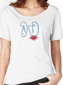 Art- It's Messy Women's Relaxed Fit T-Shirt