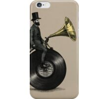 Music Man (color option) iPhone Case/Skin