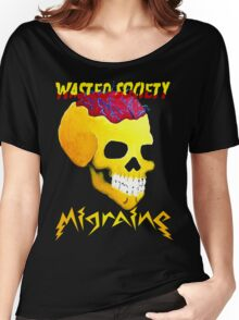 Wasted Society Migraine 2.0 Women's Relaxed Fit T-Shirt