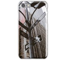 A View on Wall Street -NYC iPhone Case/Skin