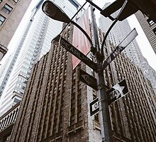A View on Wall Street -NYC by Elouisa Georgiou