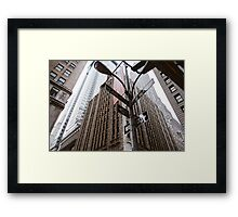 A View on Wall Street -NYC Framed Print