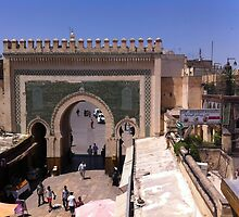 Baab Bou Jeloud, Fes, Morocco by lizzymercury