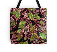 Forest at night Tote Bag