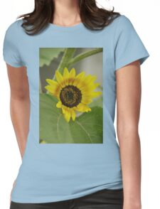 Sunflower - macro Womens Fitted T-Shirt