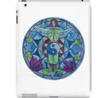 Free-hand Tao mandala angel  iPad Case/Skin