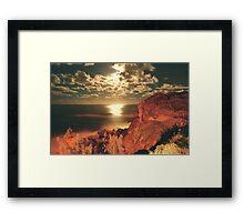 OCEAN ATMOSPHERE Framed Print