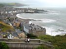View from the cliff railway, Aberystwyth by buttonpresser