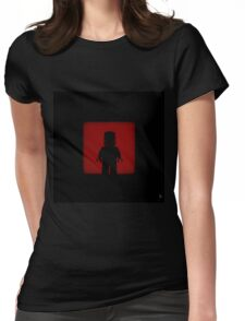 Shadow - Iron Womens Fitted T-Shirt