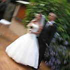 Wedding Blur by Samantha Pack