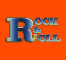 Vintage Rock&roll Kids Tee