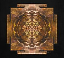 Sri Yantra gold by filippobassano