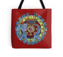 Tao elephant free-hand mandala Tote Bag