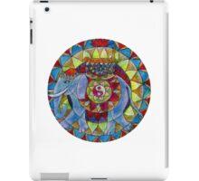 Tao elephant free-hand mandala iPad Case/Skin