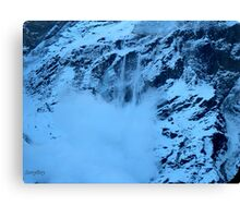 The Avalanche Canvas Print