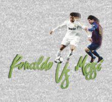 Ronaldo Vs Messi by offri
