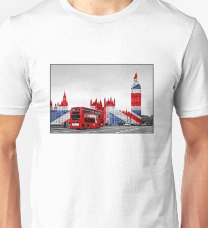 Big Ben and Union Jack Unisex T-Shirt