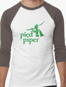 Pied Piper (Version 1) Men's Baseball ¾ T-Shirt