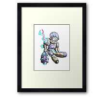 robot production... Framed Print
