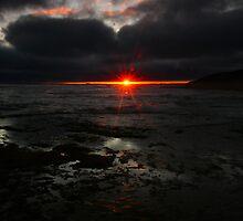 Point Lonsdale Sunset by Gwynne Brennan