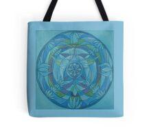 Throat chakra angel free-hand mandala Tote Bag