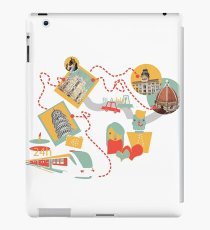 Travel with LOVE (italy) iPad Case/Skin