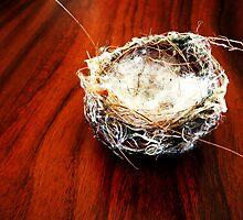 Nesting by fluttering
