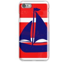 The sailboat iPhone Case/Skin