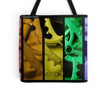 Rainbow Jersey Tote Bag