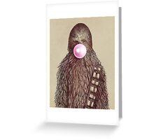 Big Chew Greeting Card