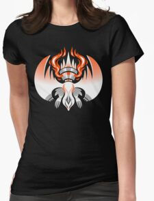 Fire Yang Dragon Womens Fitted T-Shirt