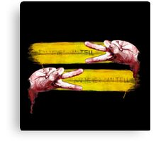 You Never can tell (Pulp Fiction Finger dance) Canvas Print