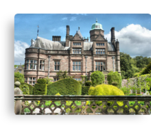 Holker Hall . Canvas Print