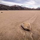 Boulder Path in the Racetrack - Death Valley National Park by Robert Kelch, M.D.