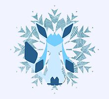 Glaceon by SilveryDreams