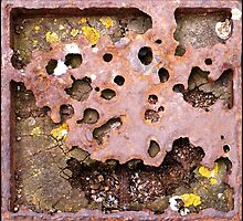 Rust And Wood Abstract by Jazzdenski