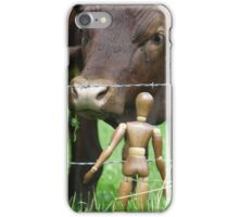 Amazed Cows iPhone Case/Skin