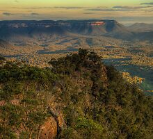 Awe & Wonder - Shipley Plateau , Blue Mountains - The HDR Experience by Philip Johnson