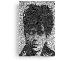 Ian McCulloch - Echo and the Bunnymen Canvas Print