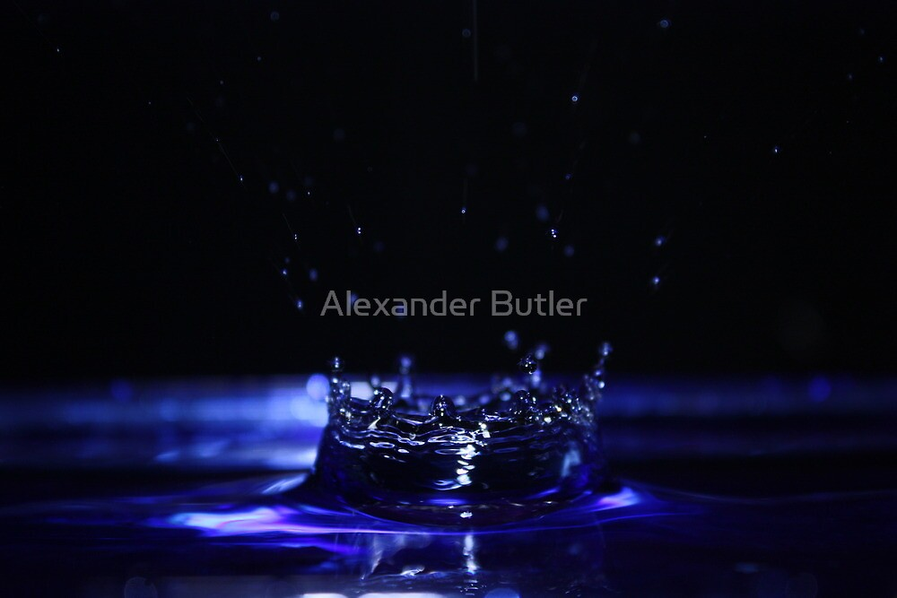 Water Drop by Alexander Butler